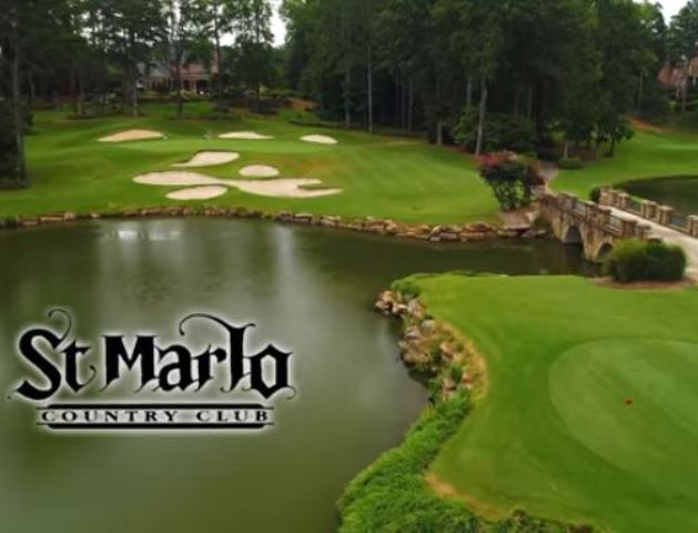 Golf Course Photo, St. Marlo Country Club, Duluth, Georgia, 30097