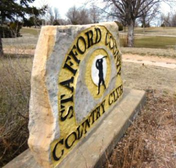 Stafford County Country Club,Stafford, Kansas,  - Golf Course Photo