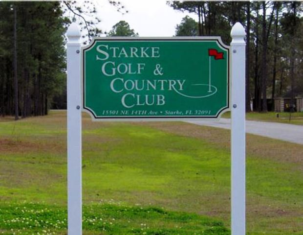Golf Course Photo, Starke Country Club, Starke, 32091