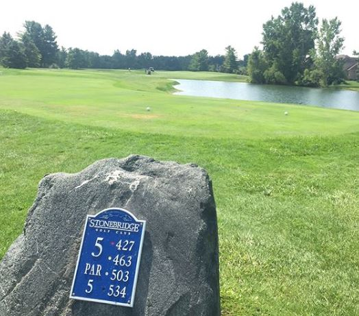 Stonebridge Golf Club, Ann Arbor, Michigan,  - Golf Course Photo