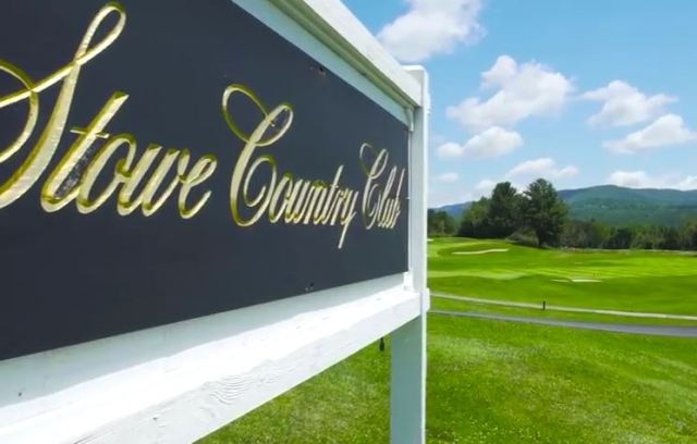 Stowe Country Club,Stowe, Vermont,  - Golf Course Photo