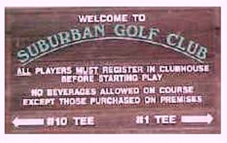 Suburban Golf Club, Bryan, Ohio, 43506 - Golf Course Photo