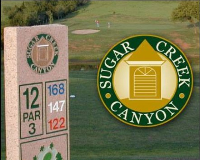 Sugar Creek Canyon Golf Club, CLOSED 2015, Hinton, Oklahoma,  - Golf Course Photo