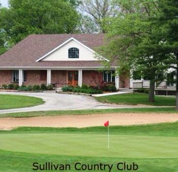 Golf Course Photo, Sullivan Country Club | Sullivan Golf Course, Sullivan, 61951