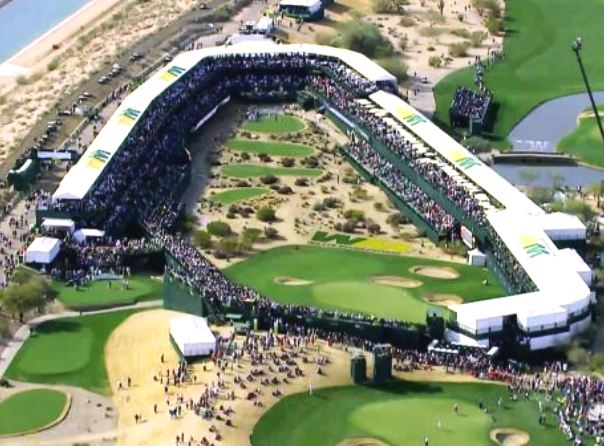 Golf Course Photo, TPC Scottsdale, Stadium Golf Course, Scottsdale, 85255