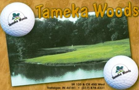 Tameka Woods Golf Course,Trafalgar, Indiana,  - Golf Course Photo