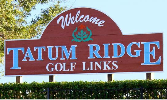 Golf Course Photo, Tatum Ridge Golf Links, Sarasota, 34240