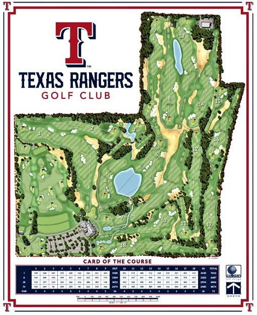 Golf Course Photo, Texas Rangers Golf Club, Arlington, Texas, 76011