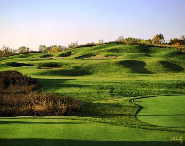 The Bog Golf Course,Saukville, Wisconsin,  - Golf Course Photo
