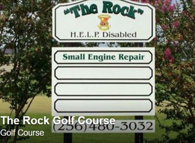 The Rock Golf Course | Talladega Municipal, Talladega, Alabama, 35160 - Golf Course Photo