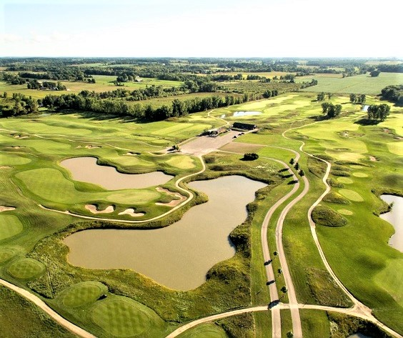 The Creeks at Ivy Acres Golf Course, Hortonville, Wisconsin,  - Golf Course Photo