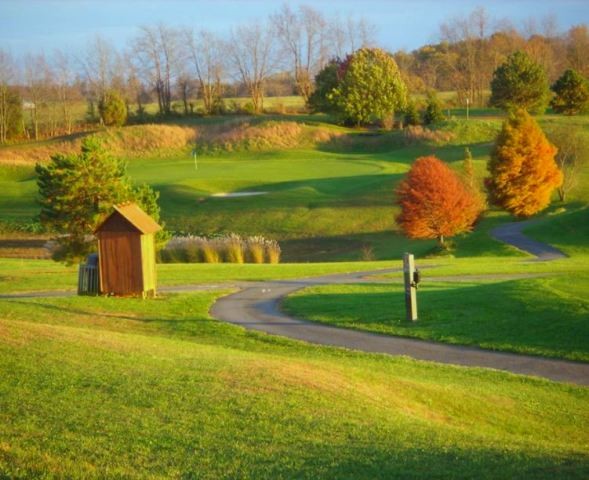 Golf Course Photo, The Crossings Golf Club | Crossings Golf Course, Jonesborough, Tennessee, 37659