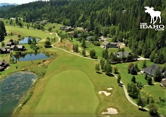 The Idaho Club, Sandpoint, Idaho,  - Golf Course Photo