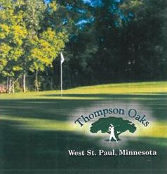 Golf Course Photo, Thompson Oaks Golf Course, CLOSED 2018, West Saint Paul, Minnesota, 55118