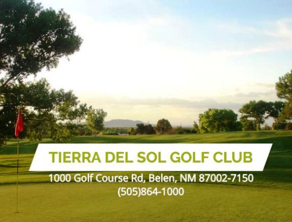 Golf Course Photo, Tierra Del Sol Golf Course, Belen, New Mexico, 87002