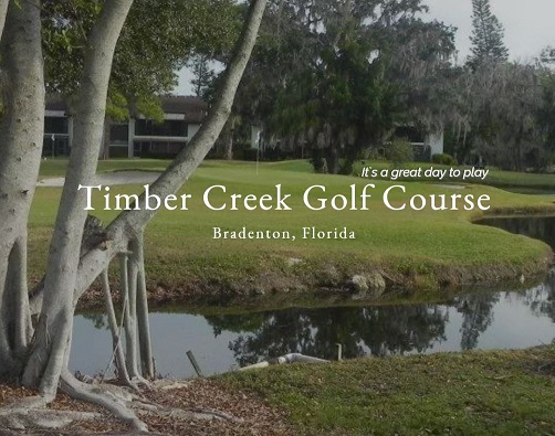 Golf Course Photo, Timber Creek Golf Course, Bradenton, Florida, 34210