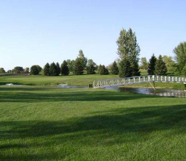 Tipsinah Mounds Golf Course, Elbow Lake, Minnesota,  - Golf Course Photo