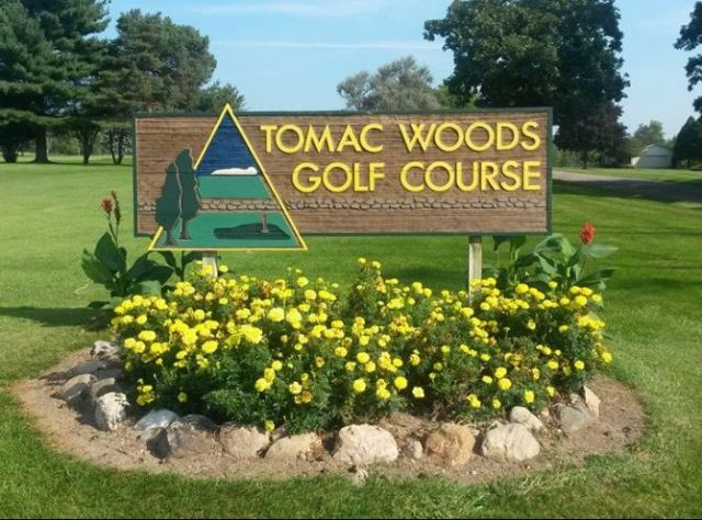 Tomac Woods Golf Course,Albion, Michigan,  - Golf Course Photo