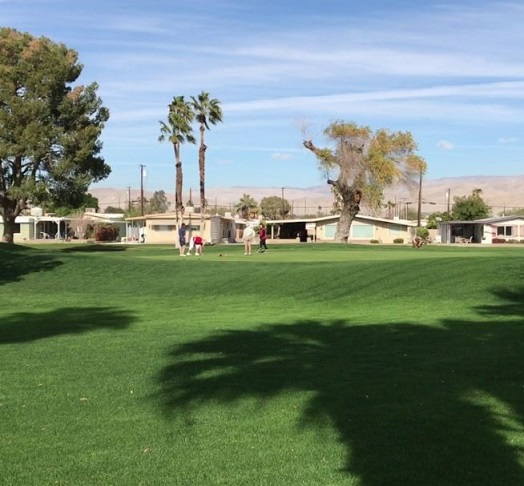 Golf Course Photo, Tri-Palm Country Club, Eighteen Hole Course, Thousand Palms, California, 92276