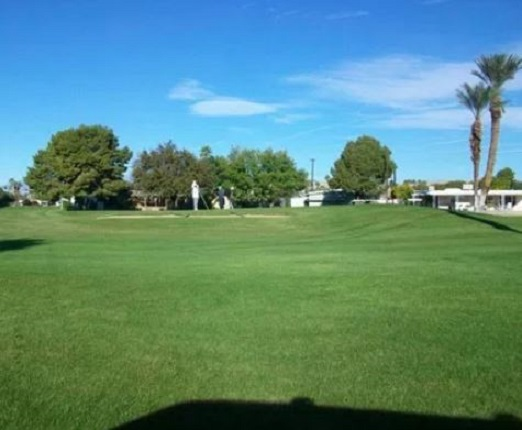 Golf Course Photo, Tri-Palm Country Club, Par-3 Course, Thousand Palms, California, 92276