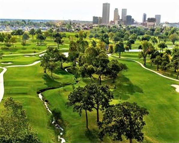 Golf Course Photo, Tulsa Country Club, Tulsa, Oklahoma, 74127
