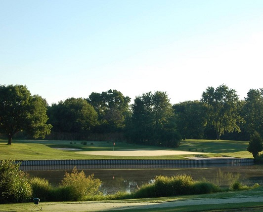 Golf Course Photo, Twin Base Golf Club, Wright Patterson AFB, 45433