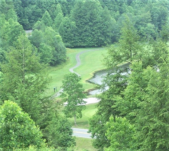 Twin Falls State Park Golf Course, Mullens, West Virginia,  - Golf Course Photo