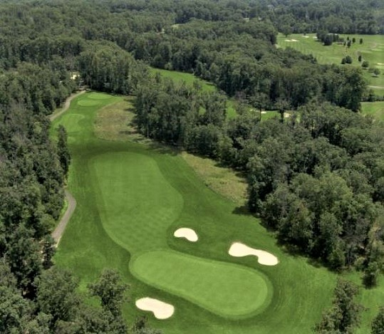 Golf Course Photo, Twin Lakes Golf Course, Oaks Course, Clifton, 20124
