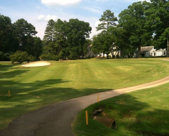 Umstead Pines Willowhaven Golf Course, Durham, North Carolina, 27712 - Golf Course Photo