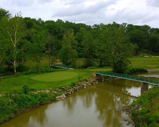 Valley of the Eagles Golf Course, Elyria, Ohio,  - Golf Course Photo
