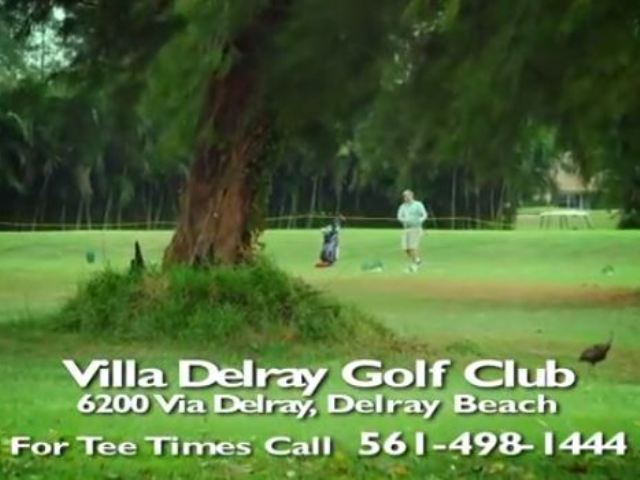 Villa Del Ray Golf Course, Delray Beach, Florida,  - Golf Course Photo