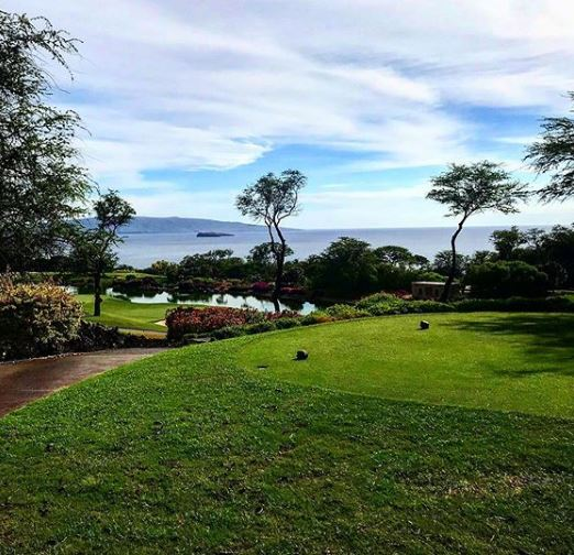Wailea Golf Club, Emerald Course, Kihei, Hawaii,  - Golf Course Photo