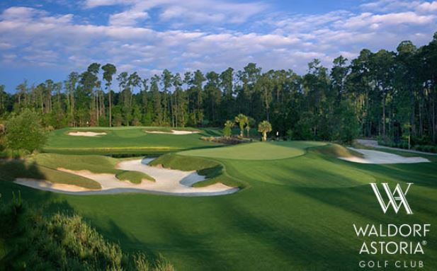 Golf Course Photo, Waldorf Astoria Golf Club, Orlando, Florida, 32821