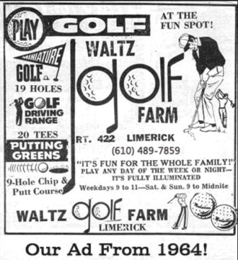 Golf Course Photo, Waltz Golf Farm, Limerick, 19468
