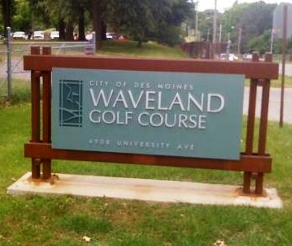 Waveland Municipal Golf Course,Des Moines, Iowa,  - Golf Course Photo