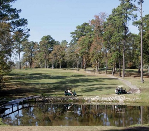 Wedgewood Golf Course, CLOSED 2016, Conroe, Texas,  - Golf Course Photo