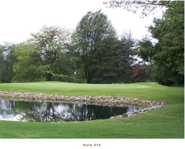 Golf Course Photo, Whiffletree Hill Golf Course, Concord, 49237