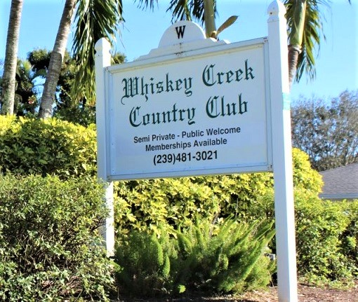 Whiskey Creek Country Club, Fort Myers, Florida,  - Golf Course Photo