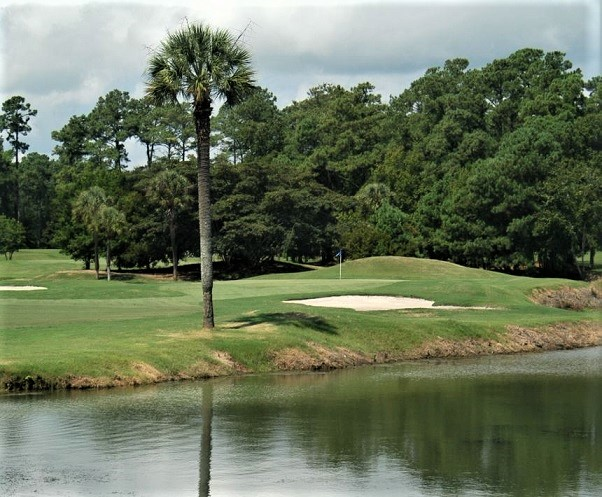 Golf Course Photo, Whispering Pines Golf Course, Myrtle Beach, 29577