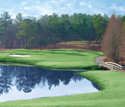 Whispering Woods Golf Course, Whispering Pines, North Carolina,  - Golf Course Photo