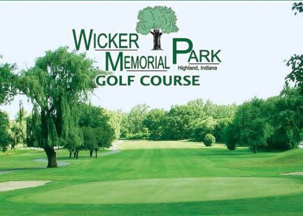 Golf Course Photo, Wicker Park Golf Course, Highland, 46322