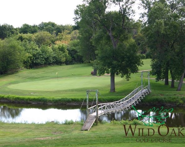 Golf Course Photo, Wild Oak Golf Club, Mitchell, 57301