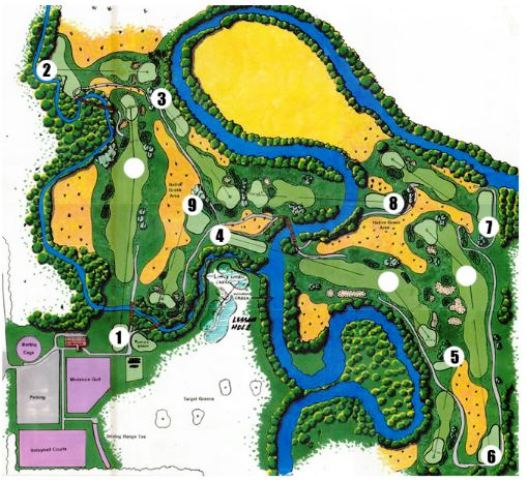 Wildcat Creek Sports Center,Manhattan, Kansas,  - Golf Course Photo