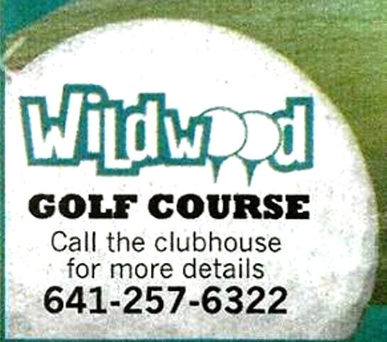 Golf Course Photo, Wildwood Municipal Golf Course | Wildwood Golf Course, Charles City, 50616