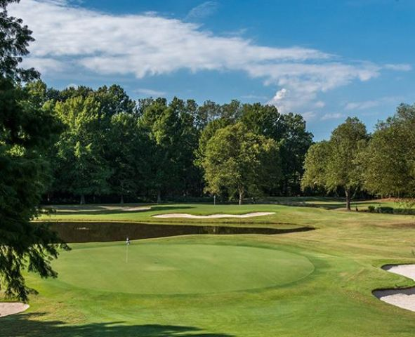 Golf Course Photo, Windyke Country Club, Par 3 Course, Memphis, Tennessee, 38125