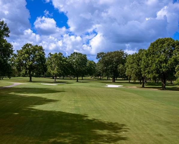 Golf Course Photo, Windyke Country Club, West Course, Memphis, 38125