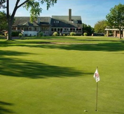 Golf Course Photo, Wisconsin Club Golf Course, Milwaukee, 2542