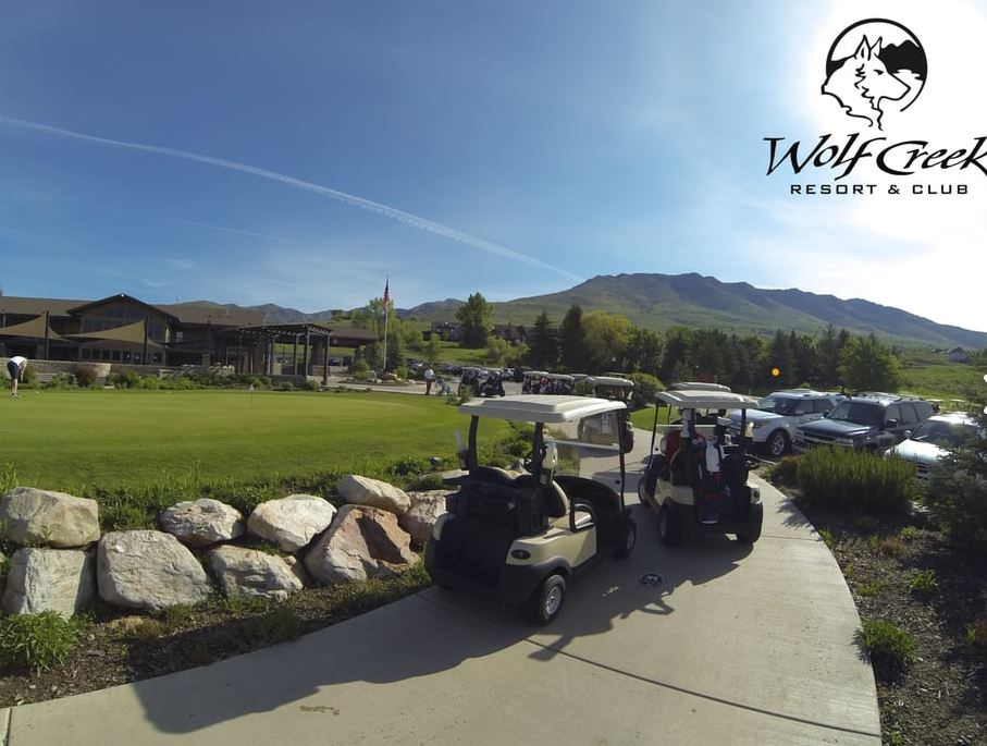 Wolf Creek Golf Resort, Eden, Utah,  - Golf Course Photo