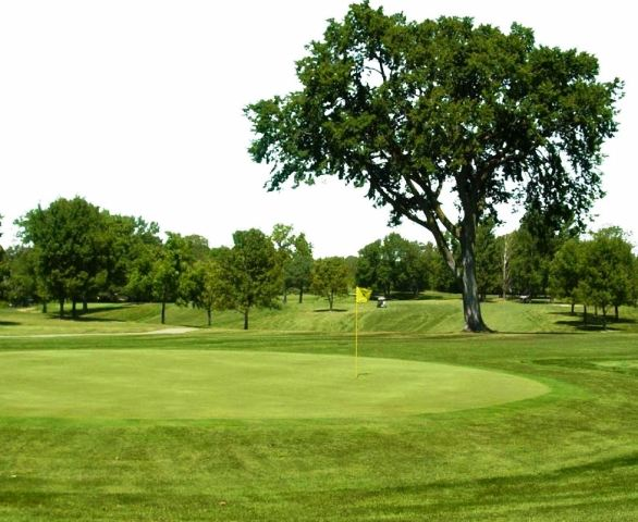 Woodland Hills Golf Course, Regulation 18,Des Moines, Iowa,  - Golf Course Photo