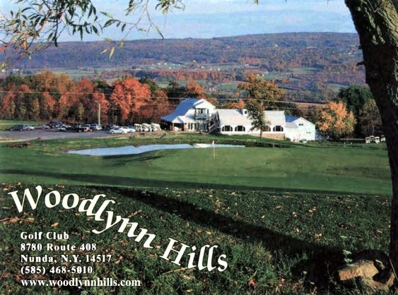 Woodlynn Hills Golf Course, Nunda, New York,  - Golf Course Photo